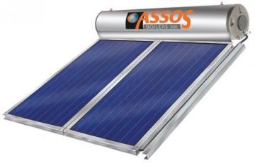 Ηλιακοί θερμοσιφώνες ASSOS για σύνδεση με Αντλίες Θερμότητας